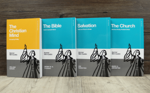 The covers of the four books in the Banner Mini-Guide series.