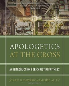 Cover of Apologetics at the Cross