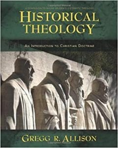 Cover of Historical Theology by Gregg Allison