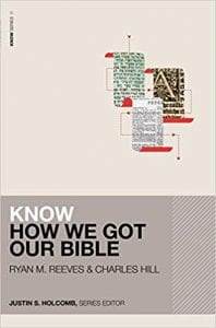 Cover of Know How We Got Our Bible