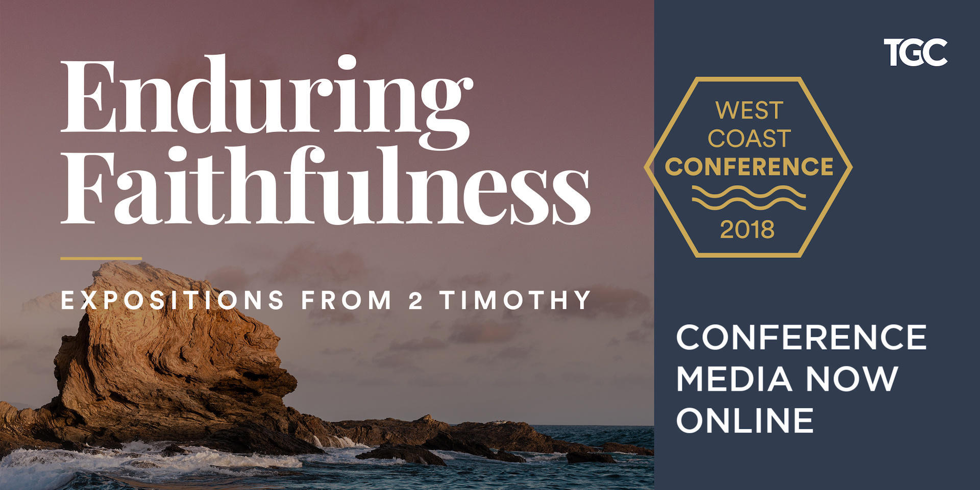 Conference Media from TGC's 2018 West Coast Conference