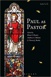 Cover of Paul as Pastor