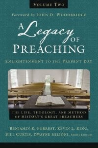 Cover of A Legacy of Preaching