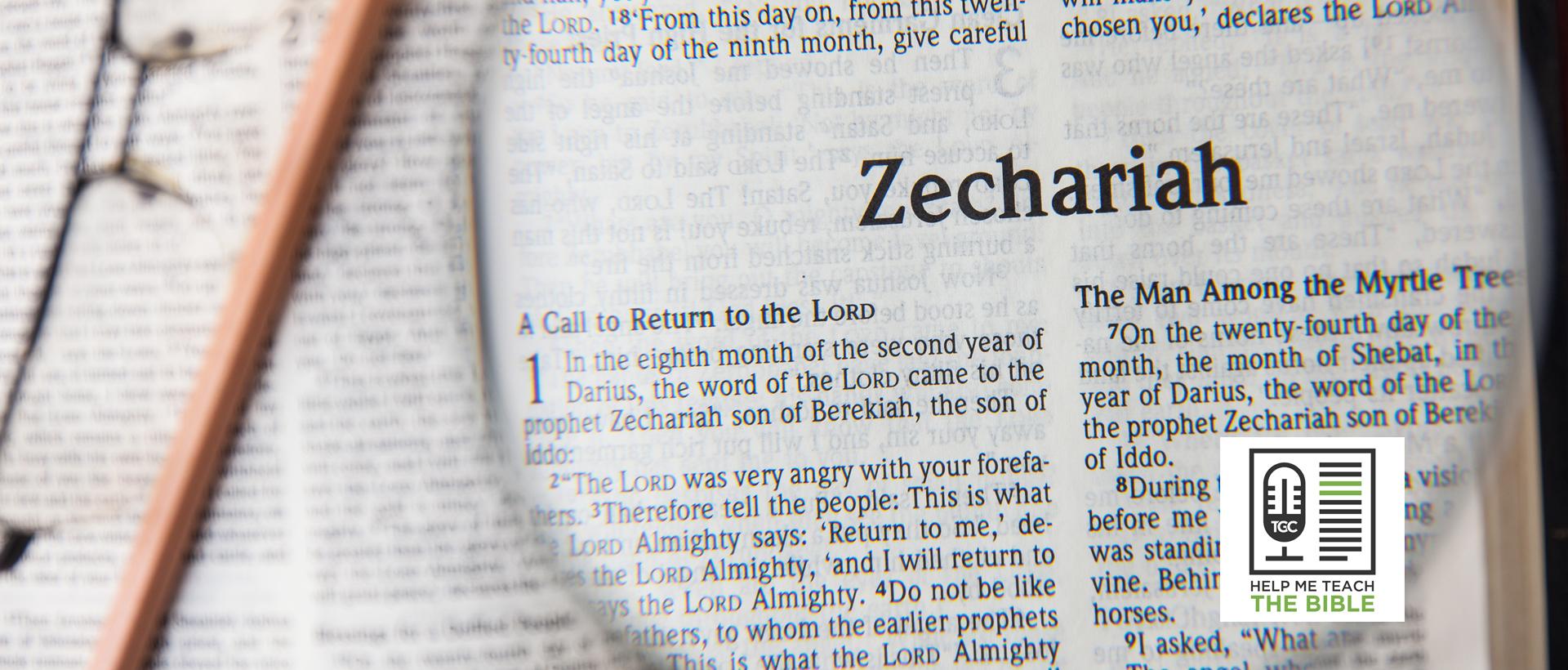 Anthony Petterson on Teaching Zechariah