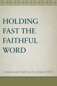Cover of Holding Fast the Faithful Word