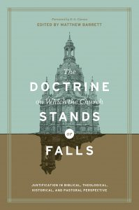 Cover of The Doctrine on Which the Church Stands or Falls