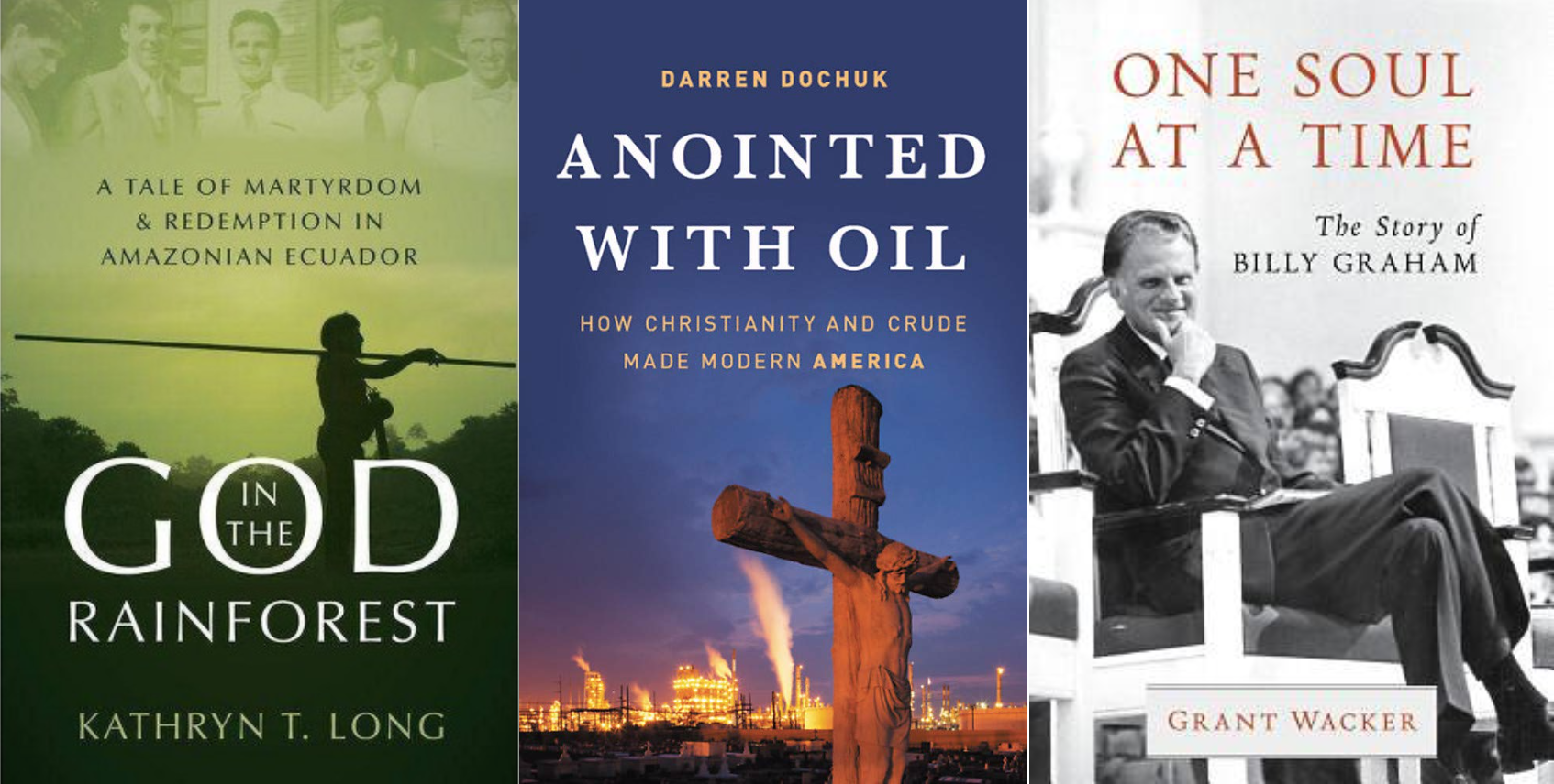 The Three History and Biography Winners from the CT Book Awards