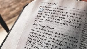 Judas's Demise in Matthew 27 and Acts 1. Do They Contradict?