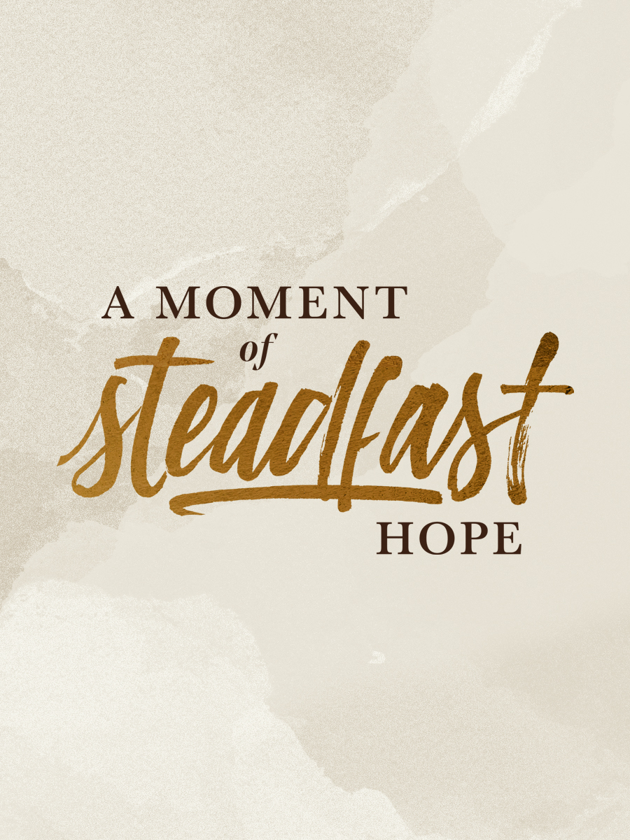 "In each episode of ""A Moment of Steadfast Hope"" we will interview speakers from our women's conference about their favorite Bible passages, concepts they're learning, and, of course, have a little fun getting to know them better too."