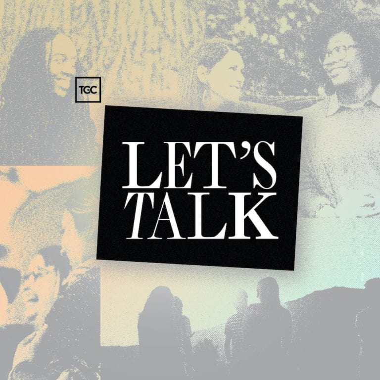 TGC's Let's Talk Podcast Season One Branding