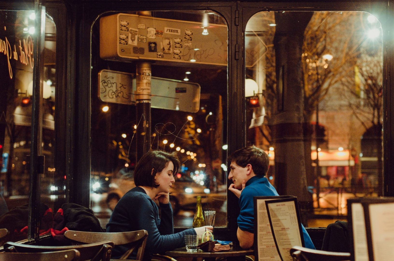 un café à Paris
