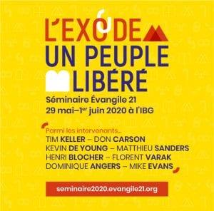 L'Exode un peuple libéré - séminaire 2020