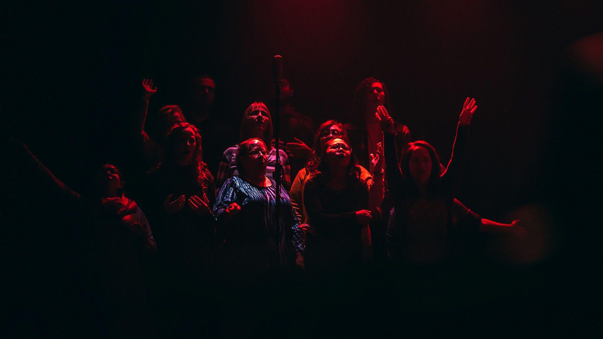 voix de la congrégation : louange