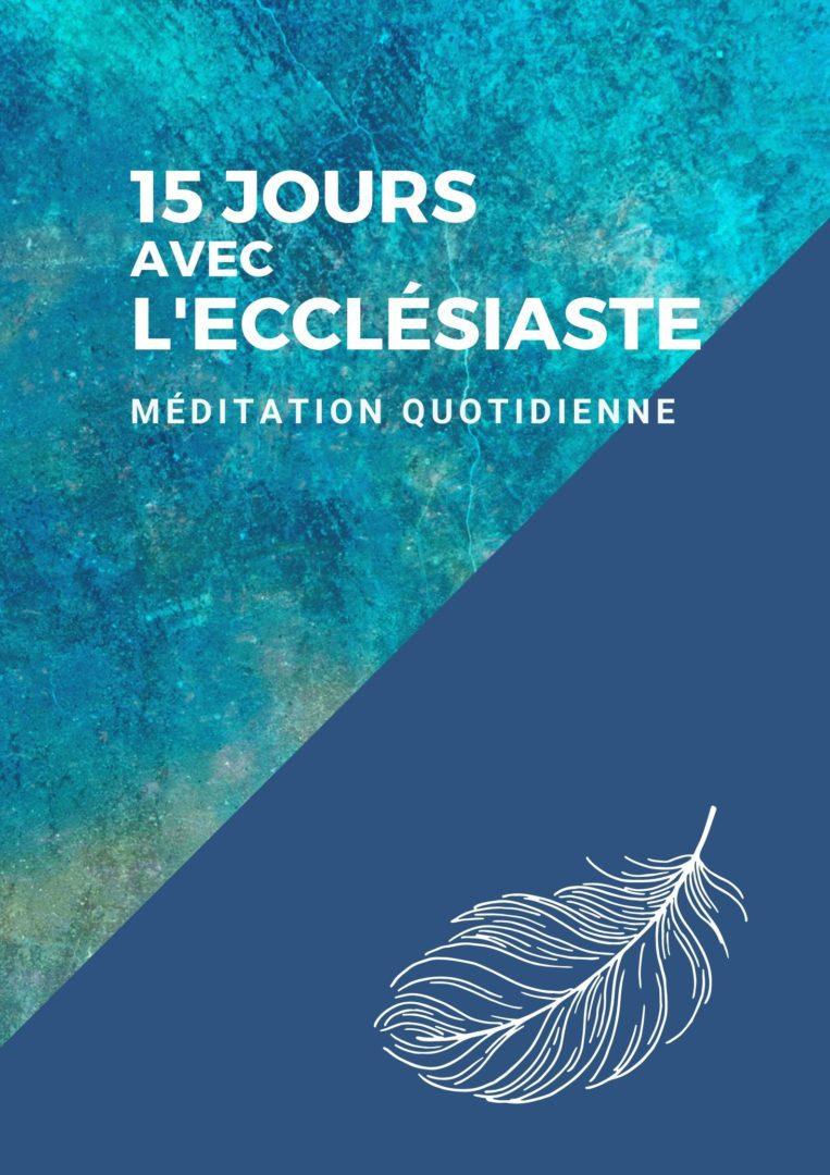Quinze courtes méditations basées sur ce livre de l'Ecclésiaste.