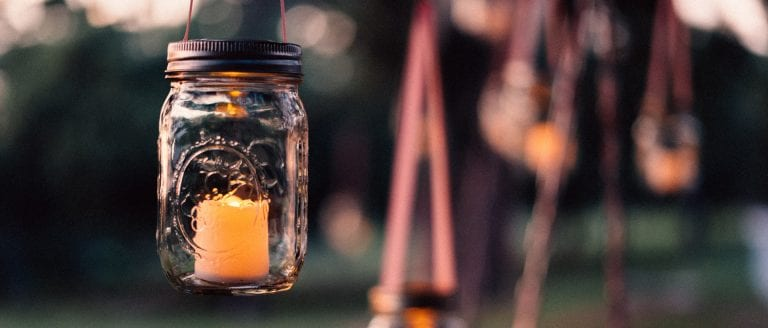 A candle sheltered in a jar - how to live well in the last days