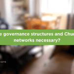 Governance & Church Networks cover image - title with interviewees behind