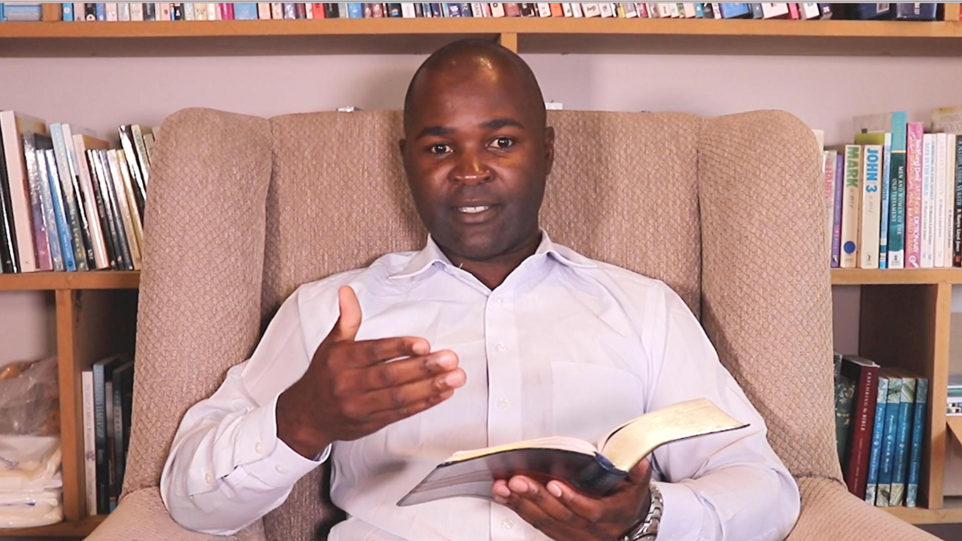 Antony Dandato photo talking on Governing Authorities