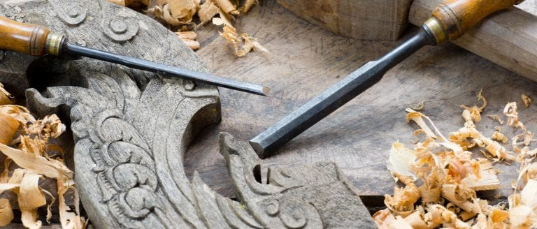 Giving Shape to wood using the right tools