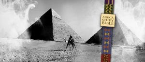 History of Christianity in Africa started in Egypt - image of pyramids