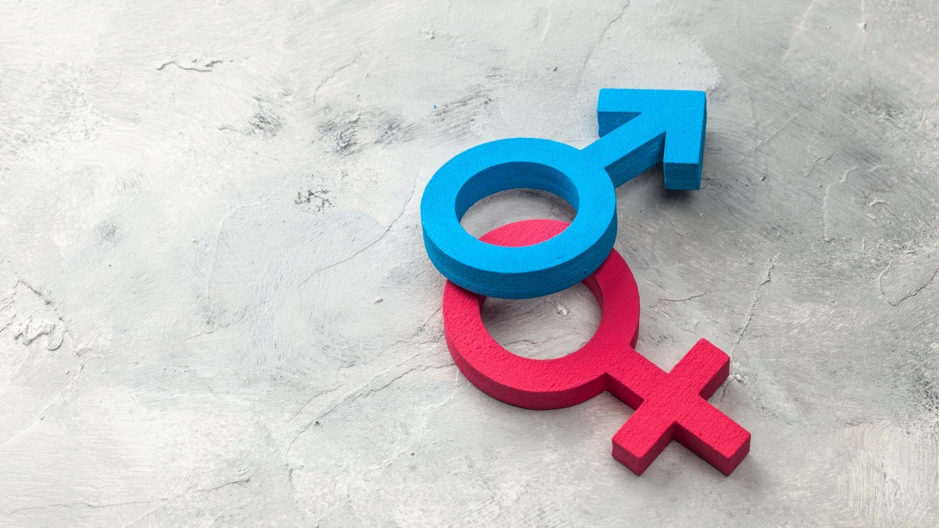 God as He not She: Gender symbols with male over female
