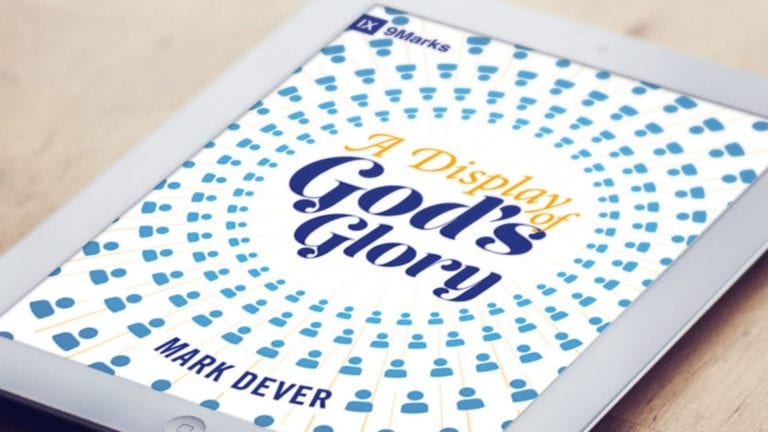 A Display of Gpd's Glory Book cover on an iPad