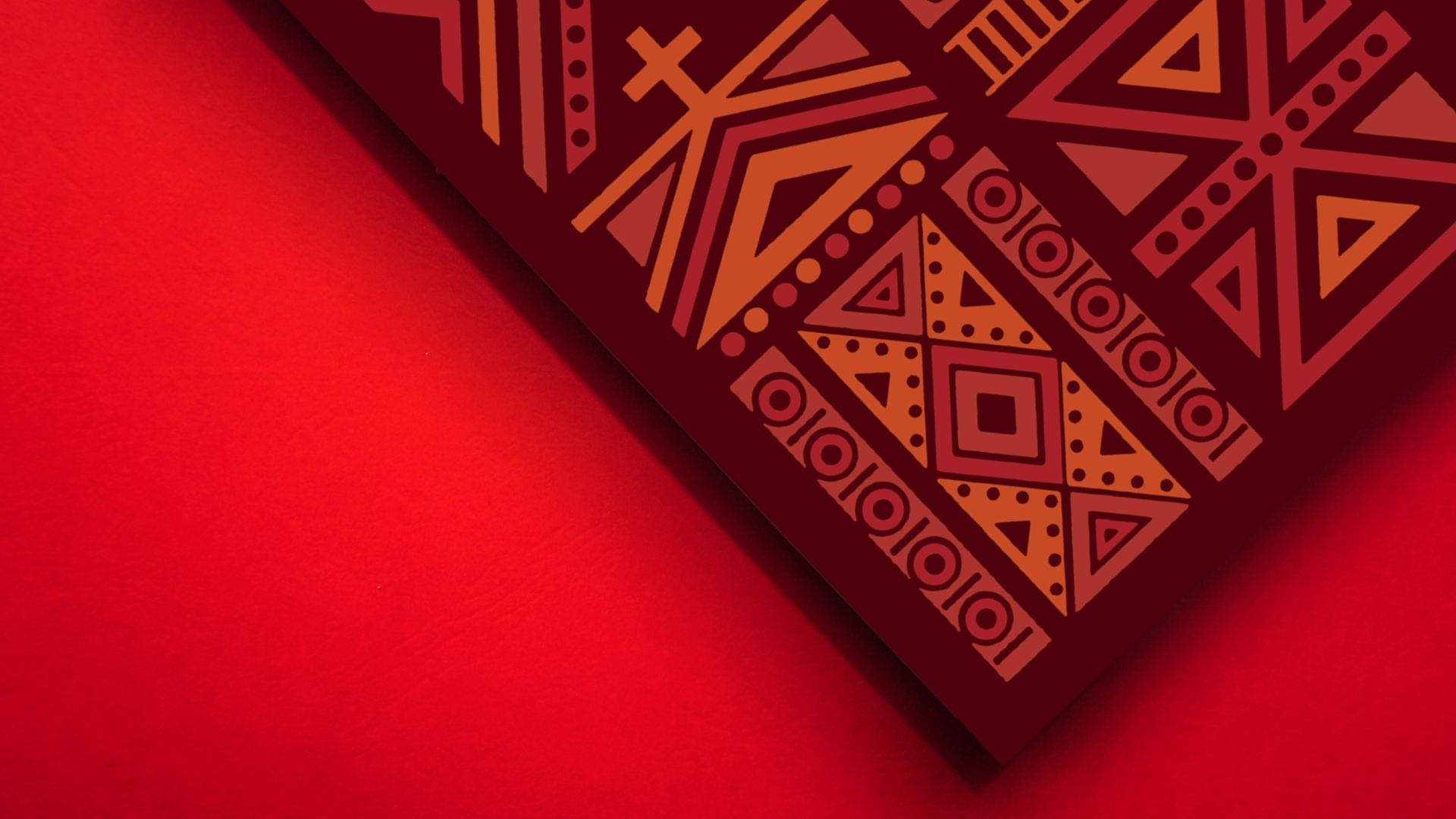 God's Design for the church book cover on red background