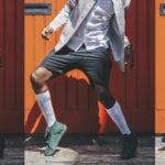 Jerusalema dance - African man doing the steps looking sharp