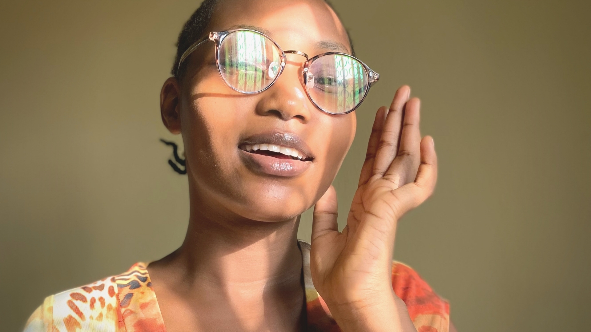 African Woman speaking - do I have to speak in tongues to be spiritual?