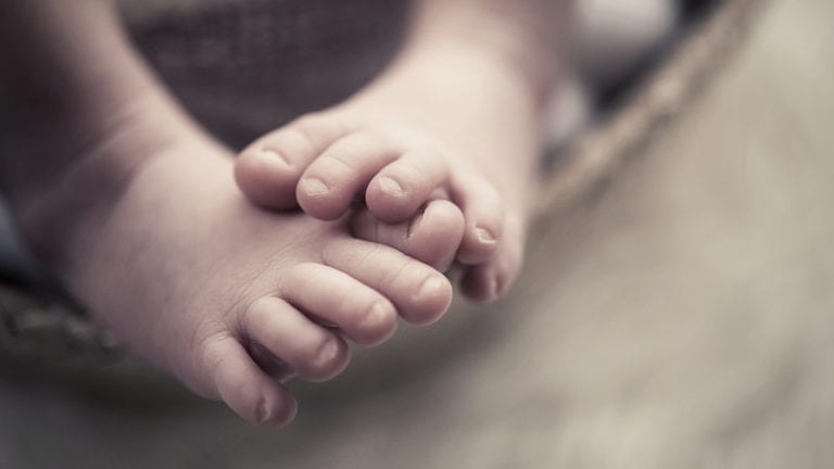 Baby Jesus - What's the big deal? Image of baby feet