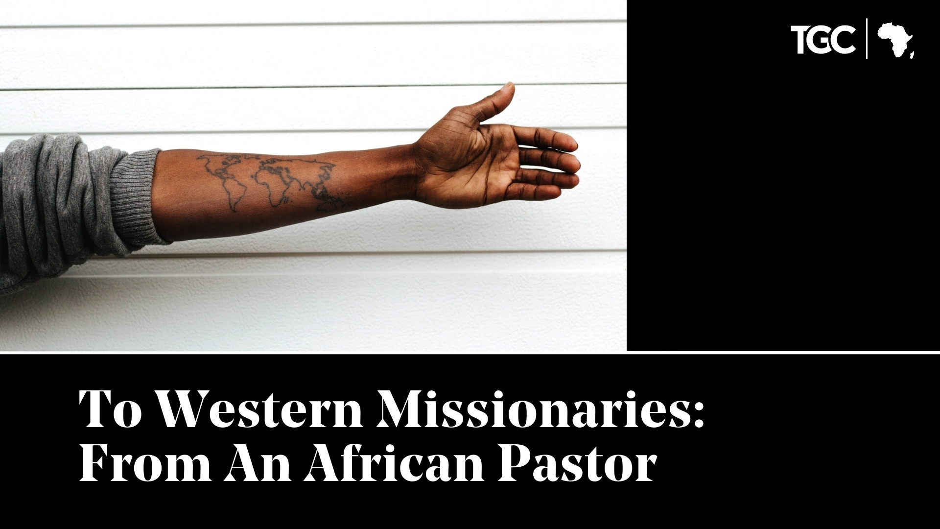 To Western Missionaries: From An African Pastor Cover