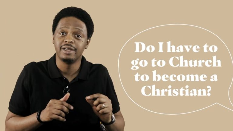 Do I Have To Go To Church To Become A Christian? Femi answers Questions